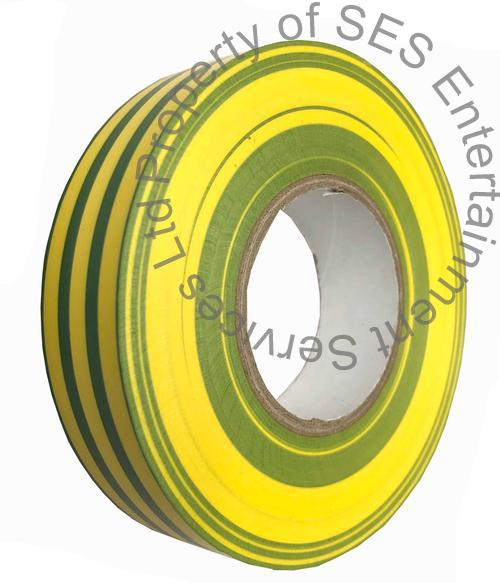 PVC Tape- Yellow and Green