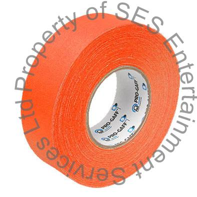 Fluorescent Orange gaffer tape